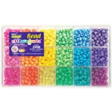 Beadery Bead Extravaganza Bead Box Kit, 19.75-Ounce, Brights