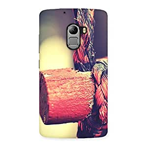 Cute Rope on Bamboo Back Case Cover for Lenovo K4 Note