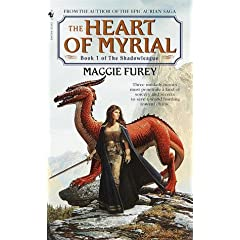 The Heart of Myrial (Shadowleague) by Maggie Furey