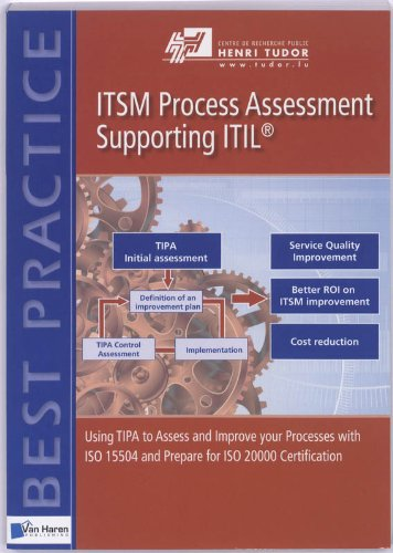 Itsm Process Assessment Supporting Itil (Tipa) (Best Practice)