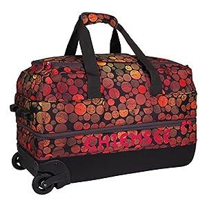 Chiemsee Unisex Reisetasche Premium Travelbag Medium, Dots Black, 64 x 34 x 38 cm, 5070001