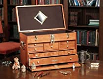 Hot Sale Gerstner Classic 20-Inch American Cherry Wood Chest with Brass Hardware #C41D-B