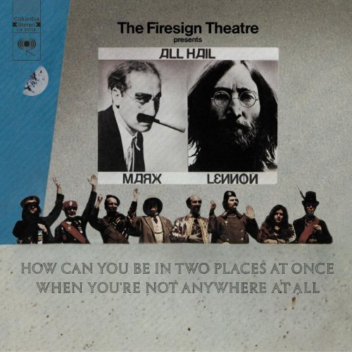 Original album cover of How Can You Be In Two Places At Once When You're Not Anywhere At All? by Firesign Theatre