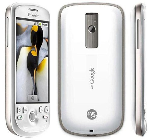 HTC myTouch 3G Unlocked Android Phone with 3G Support, GPS, Wi-Fi and Touch Screen - US Warranty - White