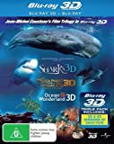 Dolphins and Whales / Ocean Wonderland / Sharks (3D Blu-ray/Blu-ray) Blu-Ray