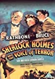 Sherlock Holmes And The Voice Of Terror [VHS]