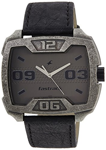 Fastrack-Metalhead-Analog-Grey-Dial-Mens-Watch-3103SL01