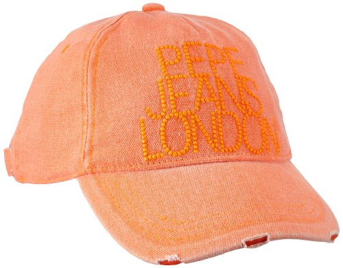 Pepe Jeans - Cappello, Bambina, arancione (Orange (ACID ORANGE 112)), L