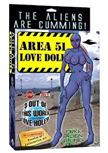 Pipedreams Area 51 Love Doll
