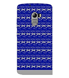 PrintDhaba The Doctor Pattern D-1075 Back Case Cover for LENOVO K4 NOTE A7010 (Multi-Coloured)