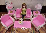 Princess Doll Lovely Luxury Living Room Furniture Set 1 Pretend Play