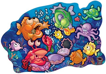 3D Sneaky Puzzles - Singin' Sea Creatures - 1