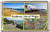 Sandown scenes isle of wight Gift Souvenir Fridge Magnet