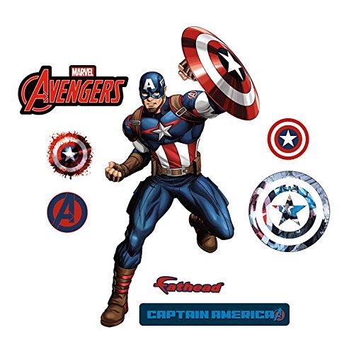 Captain America - Fathead Jr (Fathead Captain America compare prices)
