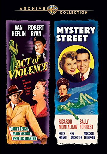 DVD : Act Of Violence / Mystery Street
