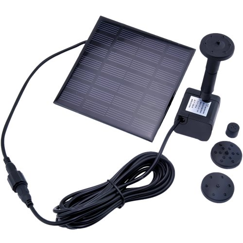VicTsing Solar Water Pump for Fountain Pool Garden Pond Submersible Water Pump