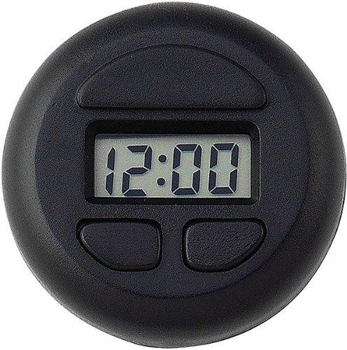 STICK-ON SPOT CLOCK -- BLACK