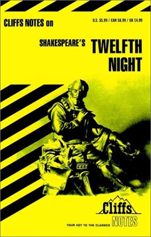 Cliffsnotes Twelfth Night, J. L. ROBERTS