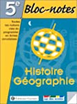 Bloc-notes, 5e : Histoire - G�ographie