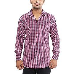 Oshano Men's Well formed Cotton Shirt