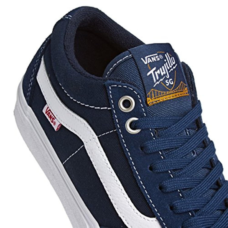 67719fceba ... Vans Tnt SG Washed Canvas Navy Blue White 8 M US ...