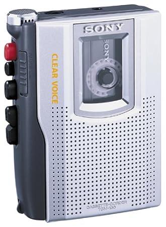 Sony TCM-150 Enregistreur de Cassette Argent