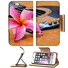 buy Apple Iphone 6 Plus Iphone 6S Plus Flip Pu Leather Wallet Case Frangipani Flower On Guitar Image 19949764 By Msd Customized Premium