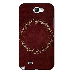 Jugaaduu LOTR Hobbit Back Cover Case For Samsung Galaxy Note 2 N7100