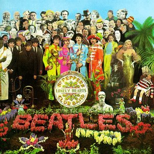 Original album cover of Sgt. Pepper's Lonely Hearts Club Band by The Beatles