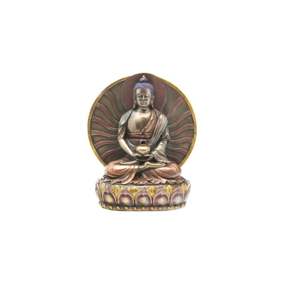 Cast Bronze Amitabha Buddha Statue