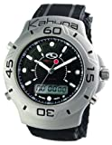 Kahuna 252-3602G Gents Watch with Black Suede Velcro Strap and Black Dial
