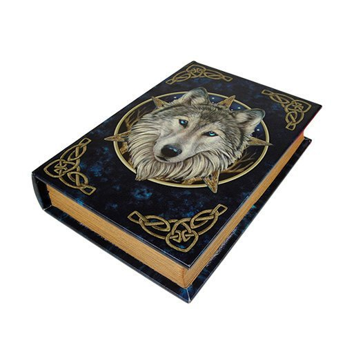 9.25 Inch Wild One Book Rectangle Jewelry/Trinket Box Figurine