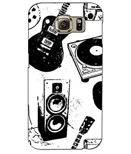 3D instyler DIGITAL PRINTED BACK COVER FOR SAMSUNG GALAXY S6 EDGE PLUS