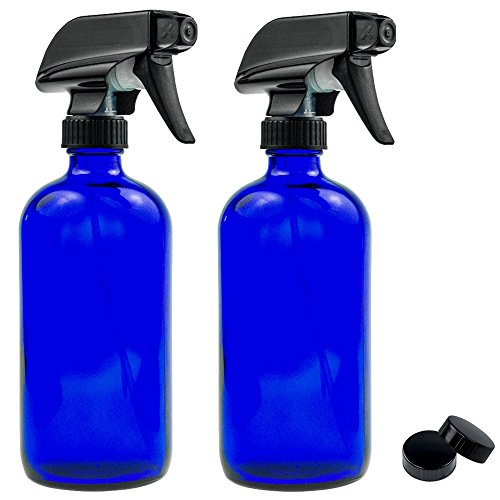 empty-blue-glass-spray-bottle-large-16-oz-refillable-container-for-essential-oils-cleaning-products-