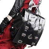 【Deorart ディオラート】DR-1988 スペード エンブレム付 ヒップ リュック バッグ トランプ ゴシック V系 ヴィジュアル ファッション メンズ レディース ユニセックス ランキングお取り寄せ