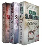 Karin Slaughter Karin Slaughter - Will Trent Series 1, 2, 3 (Triptych / Fractured / Genesis rrp £20.97)