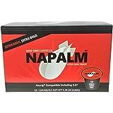 Napalm Coffee, EXTRA DARK ROAST, Keurig K-Cups, 12 Count