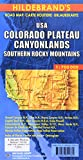 Carte routière : USA, Colorado Plateau, Canyonlands, Südliche Rocky Mountains
