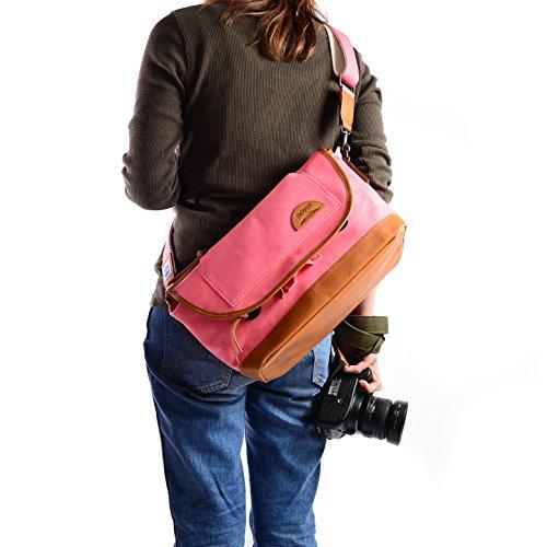 MOUTH 日本製 カメラバッグ 一眼レフ ショルダーバッグ ミラーレス Delicious mark-1 デリシャスマーク1 MJS11019(PNK) MJC12024-CHOR