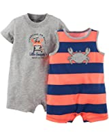 Carter's Baby Boys 2-pk. Nautical Romper Set