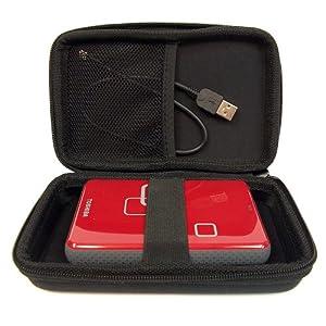 Drive Logic™ DL-64 Portable EVA Hard Drive Carrying Case Pouch (Black)