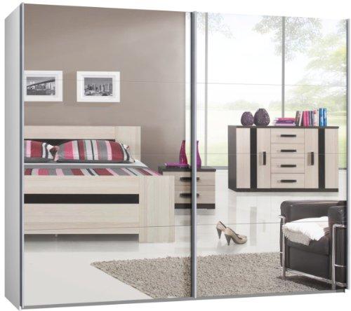 Schwebetrenschrank-Schiebetrenschrank-ca-270-cm-Spiegel-Kleiderschrank