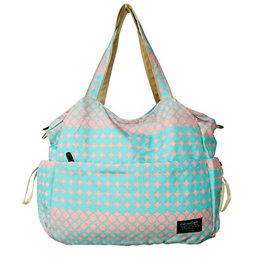 Damai Large Diaper Tote Satchel Bag (Pink)