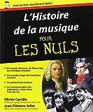 echange, troc Jean-Clément Jollet, Olivier Carrillo - L'histoire de la musique pour les nuls
