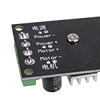 DN Mini 1203BK DC 6V - 28V 3A PWM DC Motor Adjustable Speed Regulator Controller with Switch by DN
