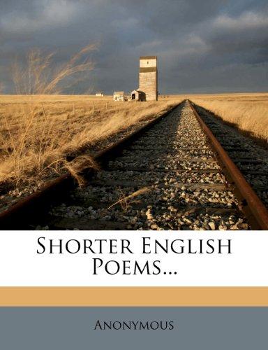 Shorter English Poems...