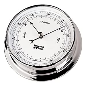 Weems & Plath Endurance Collection 085 Barometer (Chrome) from Weems & Plath