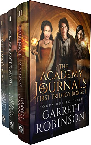 The Academy Journals First Trilogy Box Set: Books 1-3 of the Academy Journals