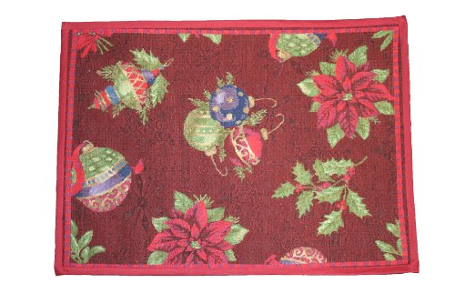 Holiday Christmas Poinsettia / Jingle Bells Design 19