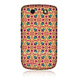 Head Case Yellow Floral Moroccan Print Snap-on Back Case for BlackBerry Torch 9800 9810